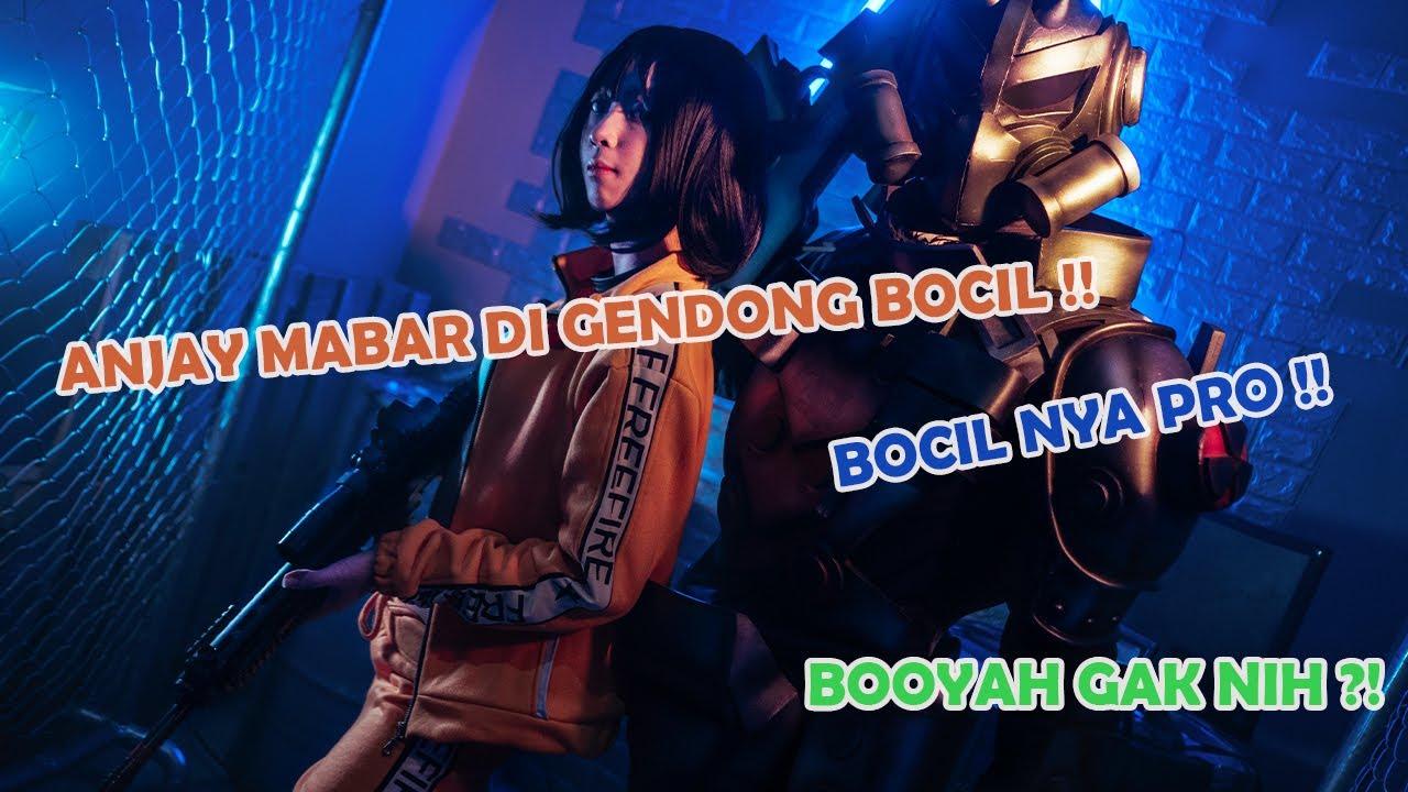ANJAY MABAR FREE FIRE BARENG BOCIL TAPI PRO !! DI GENDONG !!