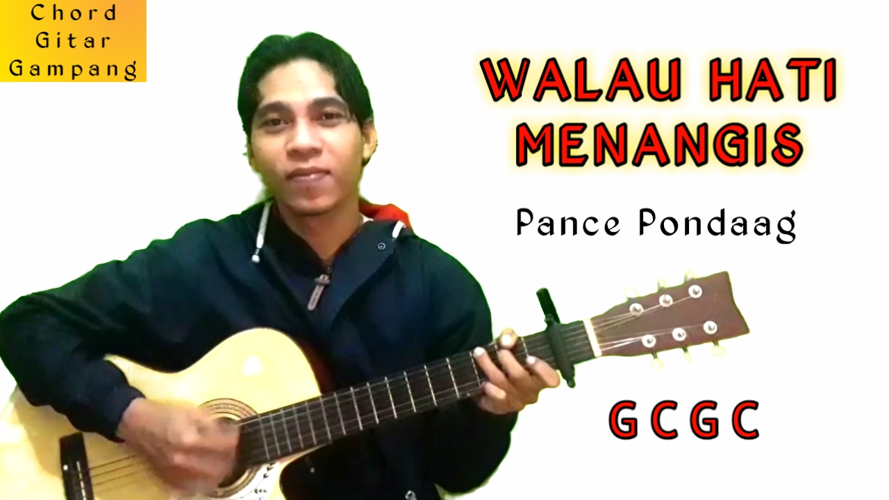 Afandy Royani - WALAU HATI MENANGIS- PANCE PONDAAG- CHORD GITAR