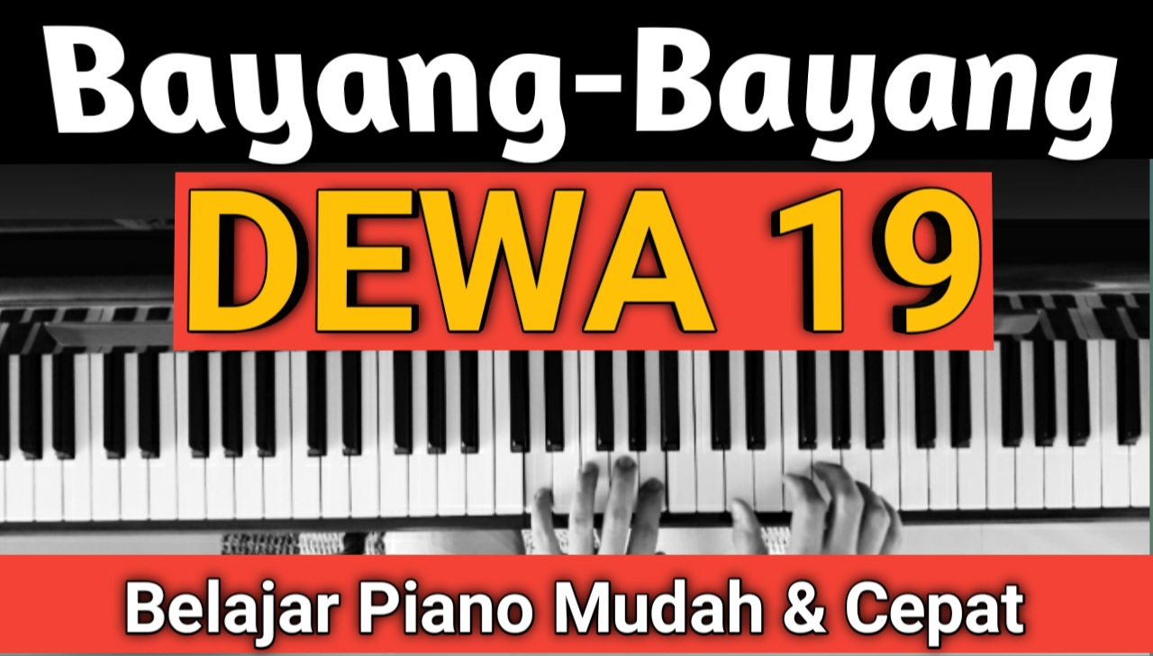 Yozar channel - Bayang-Bayang (DEWA 19) Tutorial Piano