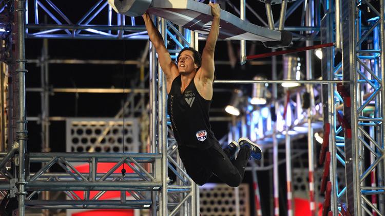 Show Moment - Daniel Gil at the Vegas Finals - American Ninja Warrior