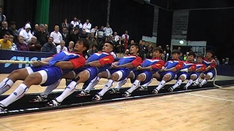 Show Moment - World Indoor Championships - Men 560 Kilos Final