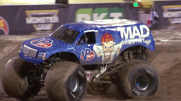 Show Moment - Lee O'Donnell at Monster Jam World Finals XVIII