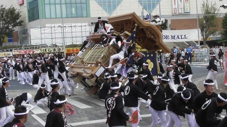 Show Moment - Festival Kishiwada DANJIRI Matsuri di kota Kishiwada OSAKA JEPANG