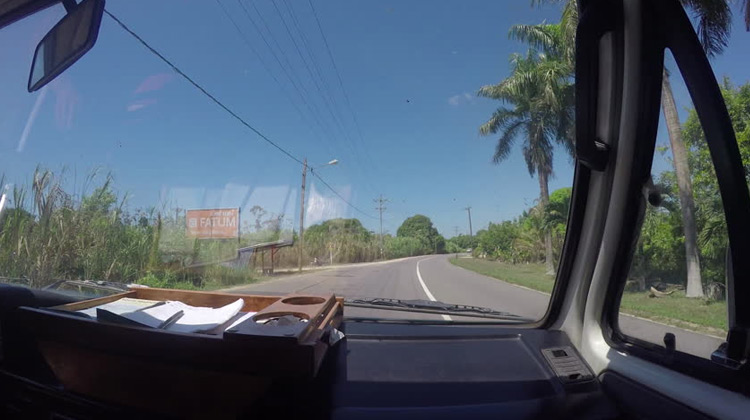 Traveling World - Driving in Suriname