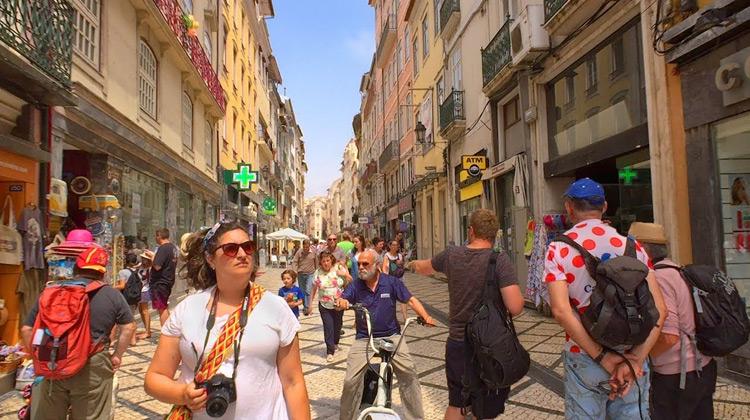 Traveling World - Coimbra, Portugal - Summer Walk Tour
