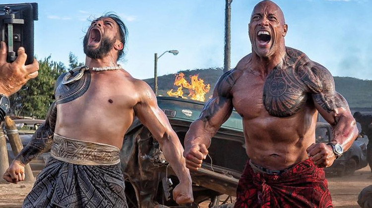 Scenes Movie - Fast and Furious: Hobbs and Shaw: Samoan warrior