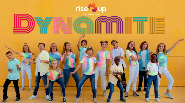 Ballads Channel - Rise Up Children's Choir - Dynamite (Musoic  Cover)