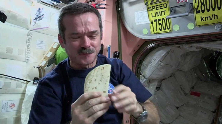 Kuliner Channel - Chris Hadfield's Space Kitchen