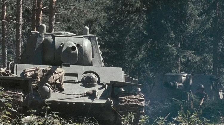 Scenes Movie - Tali-Ihantala 1944 (2007) | Panzerfaust Vs KV-1 Tank