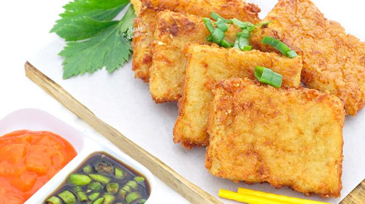 Kuliner Channel - Oyster Omelet & kue lobak - Street Food Taiwan