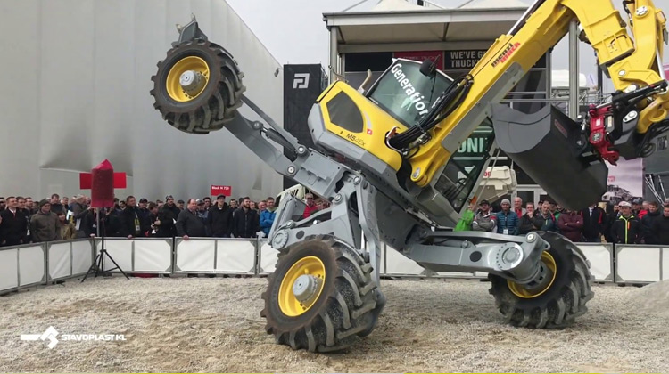 Show Moment - Menzi Muck A91 Excavator Untuk Medan Extream