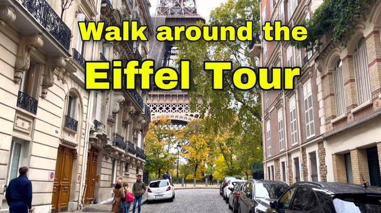 Walking tour in Paris