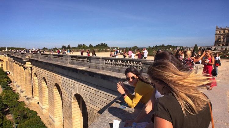 Walking the Gardens of Versailles, Paris