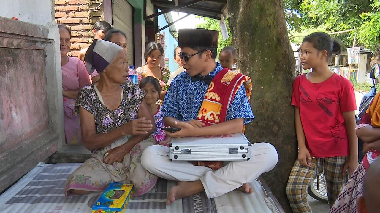 Putrayasa - Sergap Papuq Isah Kenyeke Ngerumpi || Tuaq Tilas 2021 Program Berbagi Bulan Ramadhan Di Lombok (Karang Makam, Kecamatan Kuripan)