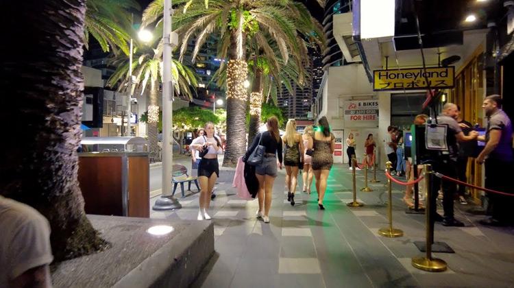 Australian Nightlife in Gold Coast
