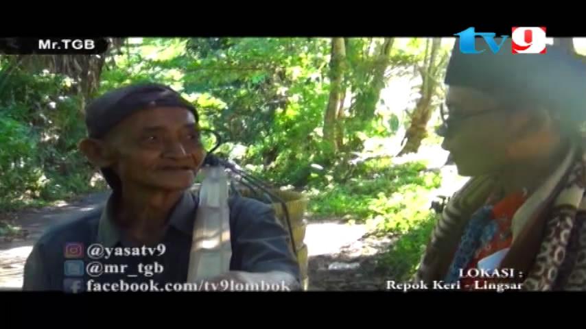 Putrayasa - Bagi-bagi uang di Repok Keri Lingsar - Lombok Barat_Program Televisi Lombok Ramadhan