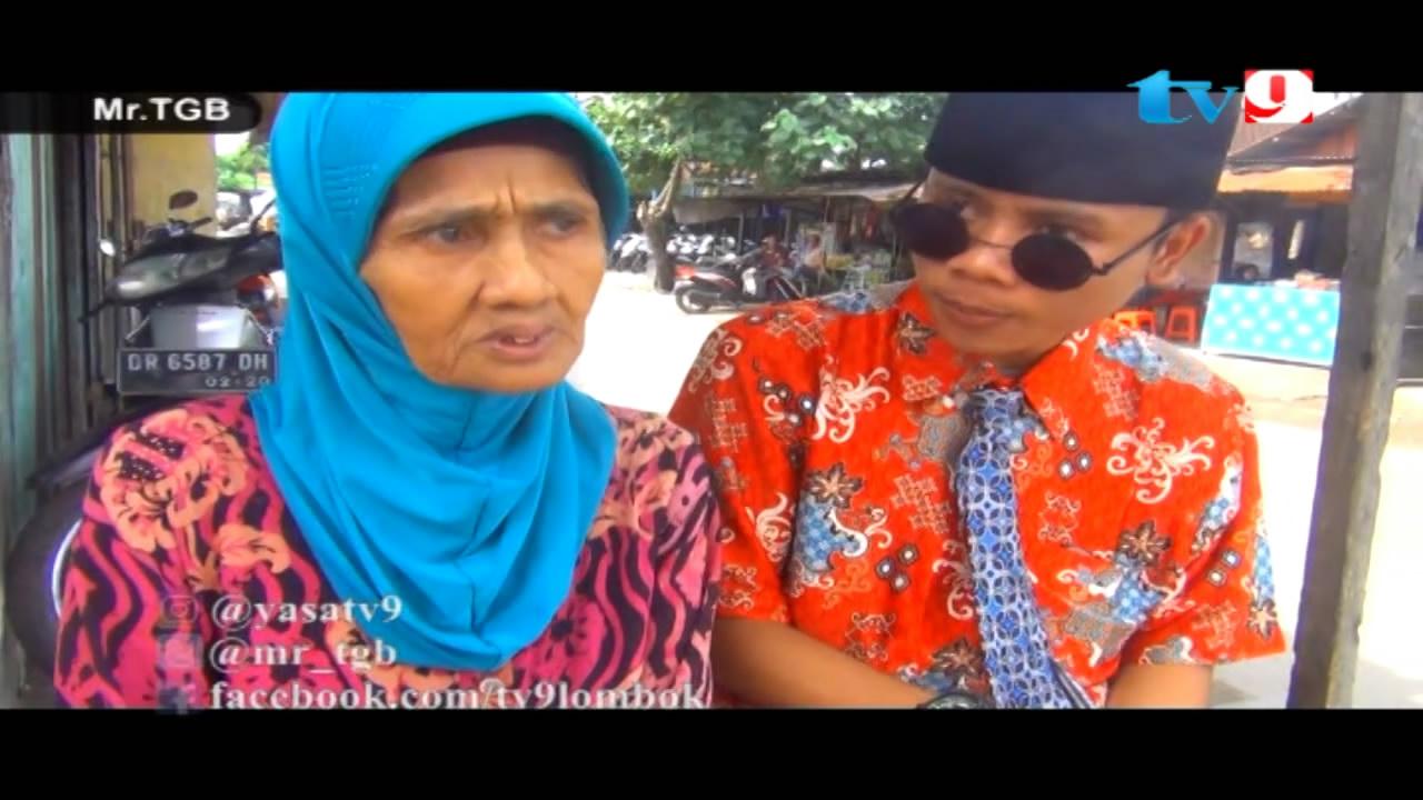 Putrayasa - Bagi-bagi uang di Kr.Taliwang - Mataram_Program Televisi Lombok Ramadhan
