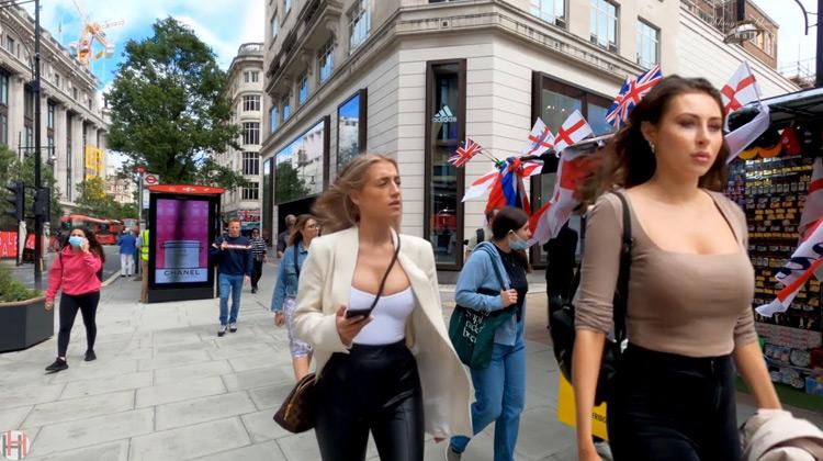 Traveling World - Oxford Street Summer Walk | London Walking Tour