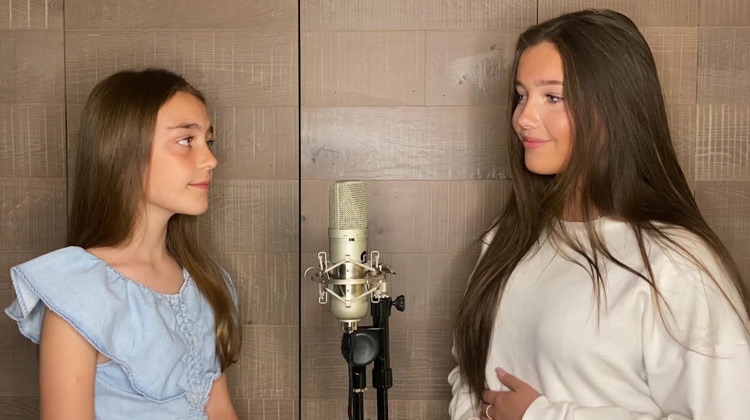 Scenes Movie - Sisters Lucy and Martha Thomas - In The Arms Of An Angel (Music Cover)
