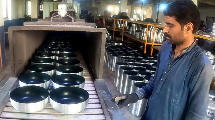 Proses Pembuatan Panci Anti Lengket (home Industri)