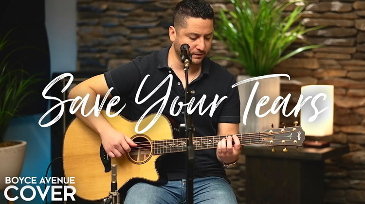 Ballads Channel - Boyce Avenue - Save Your Tear (Music Cover)