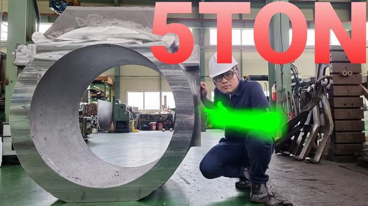Kepo Media - 5 Ton Steel Mill Parts Machining