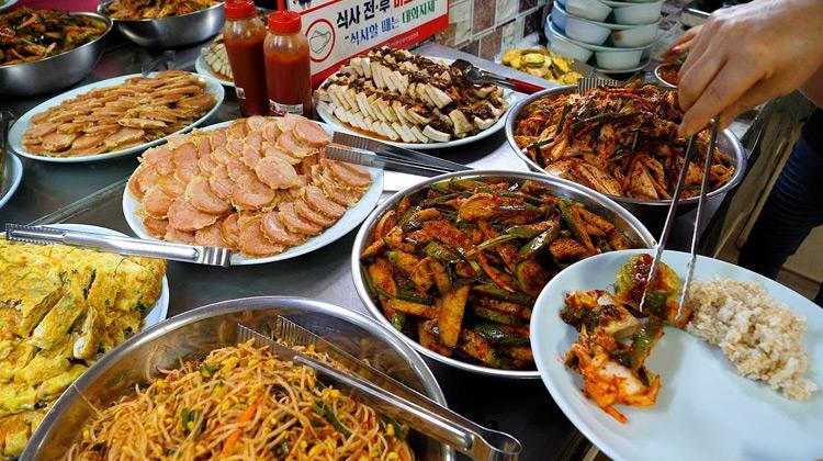 Kuliner Channel - Tempat Prasmanan Terjangkau di Korea
