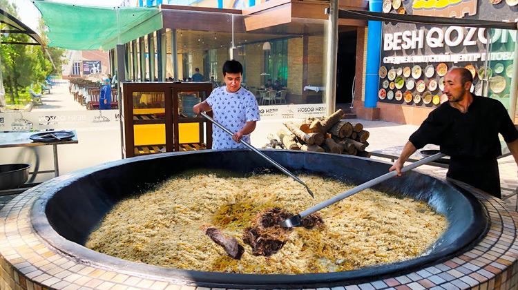 Kuliner Channel - Cara Membuat Pilaf   Kuliner Uzbekistan