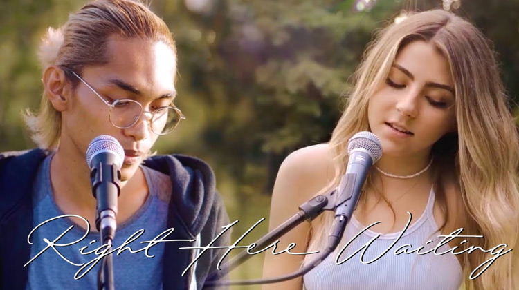 Ballads Channel - Jada Facer & Tereza Fahlevi - Right Here Waiting (Music Cover)