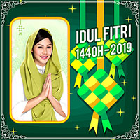 Idul Fitri 2019 Photo Frame Lebaran icon