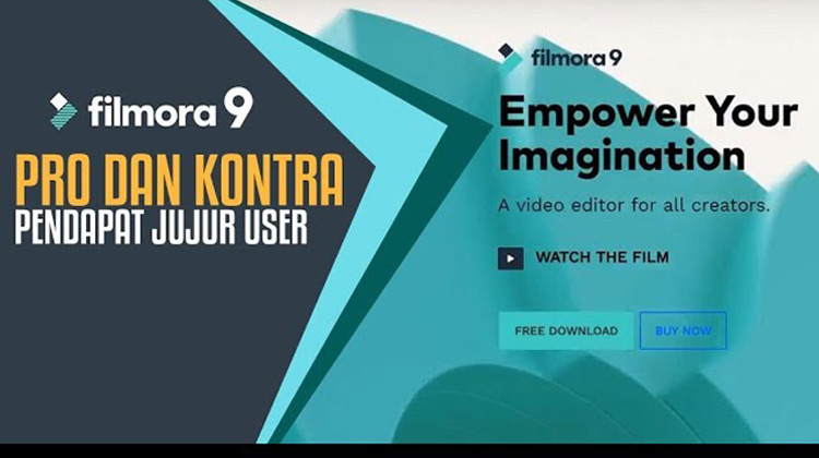VDar - Software Filmora 9 Update Pro dan Kontra - Pendapat Jujur User