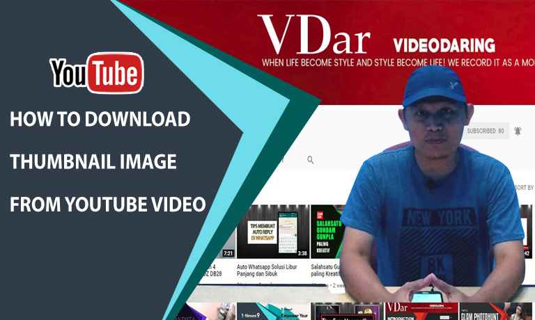 VDar - Tips How To Download Thumbnail Image From Youtube Video